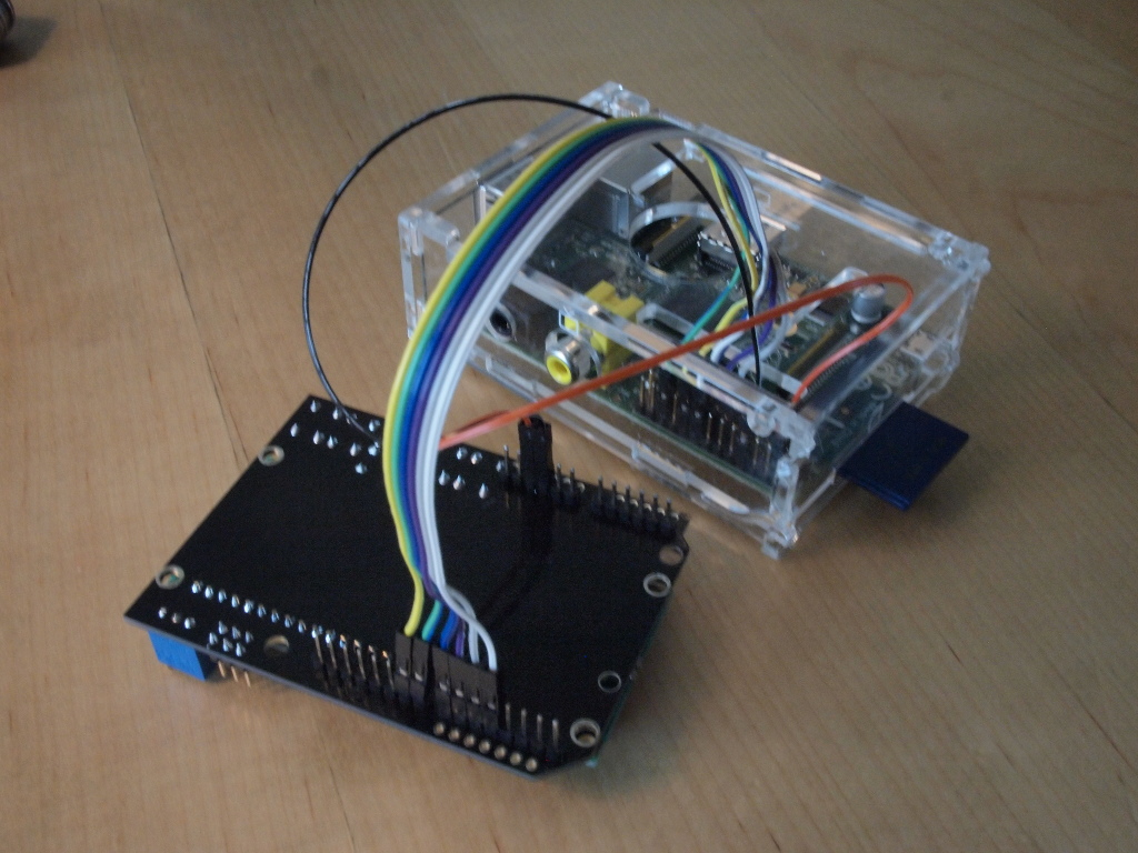 Using an Arduino LCD Shield with Raspberry Pi and Node js | Lo-Fi Coding